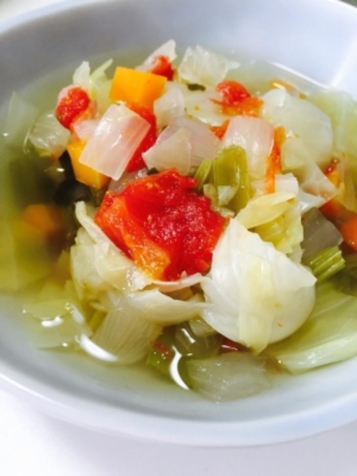スープ 効果 デトックス