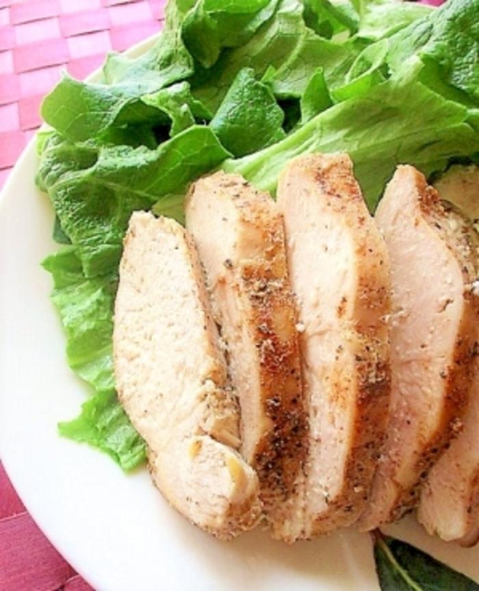 チキン 味付け サラダ