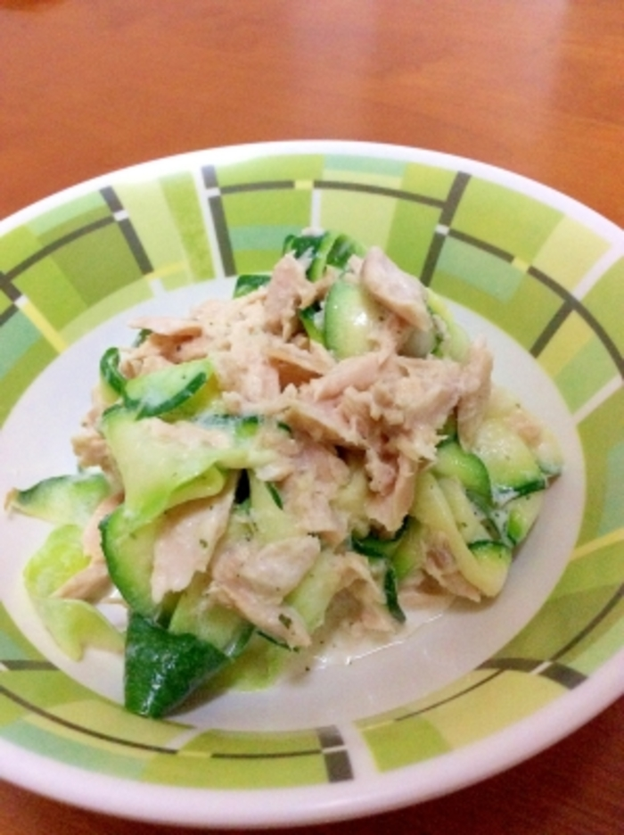 ズッキーニを使った人気レシピ【調理法:茹でる】おすすめ10選