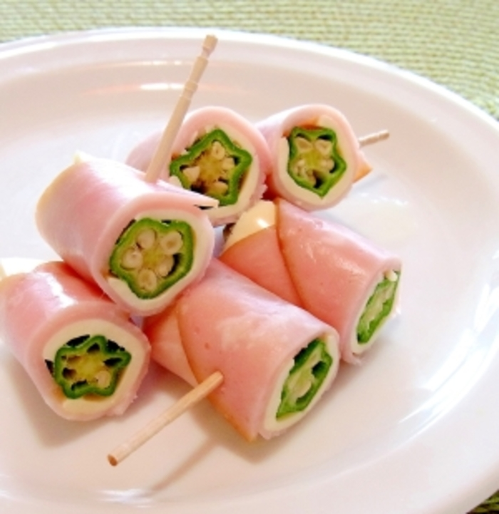 オクラを使った人気レシピ【料理の種類:お弁当編】おすすめ10