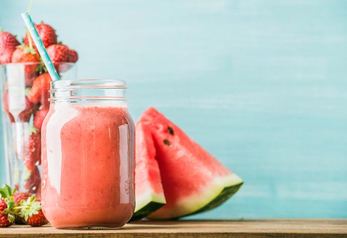 暑い季節にオススメ☆人気のスイカスムージーレシピ15選