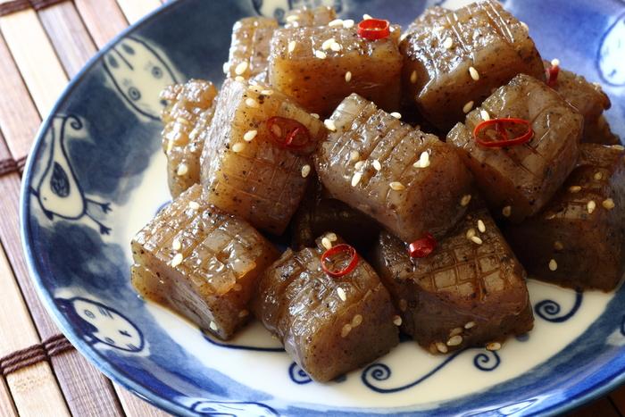 こんにゃくを使った人気レシピ【料理の種類:おつまみ】おすすめ10選